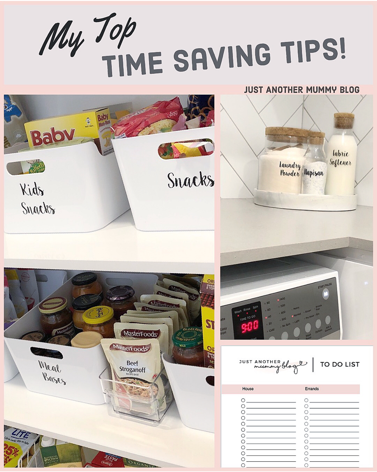 Top Time Saving Tips