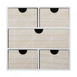 Kmart white drawers